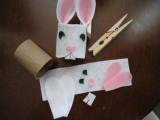 Recycled Crafts for Easter