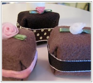 Felt Cake and Brownies