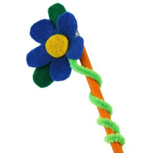 Flower pencil topper favecrafts com