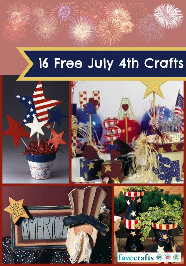 16 4th of July Crafts