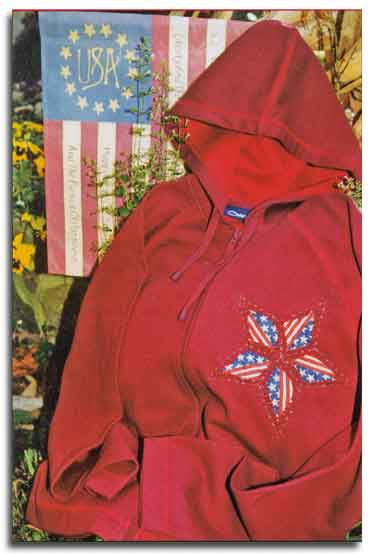 American Applique Sweatshirt