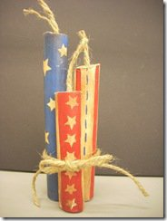 July 4th Firecracker Decorations 1