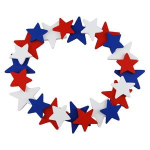 Star Spangle Wreath