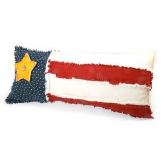 Star and Stripes Pillow