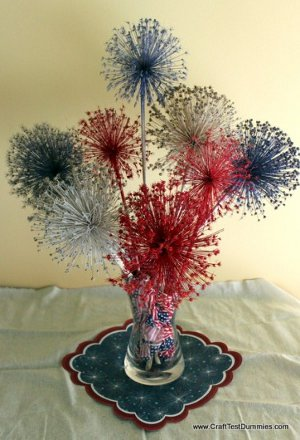 Allium Fireworks Display
