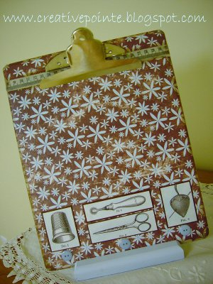 Decorative Clipboard