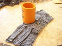 Denim Drink Cozy