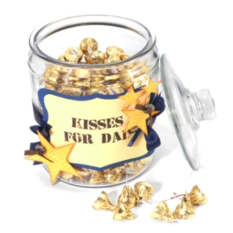 Chocolate Kisses for Dad
