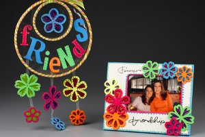 Friendship Mobile and Frame
