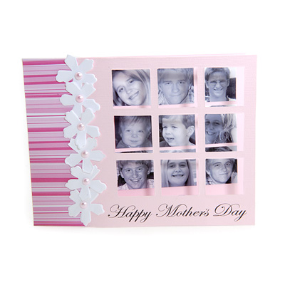 Mother's Day Window Card