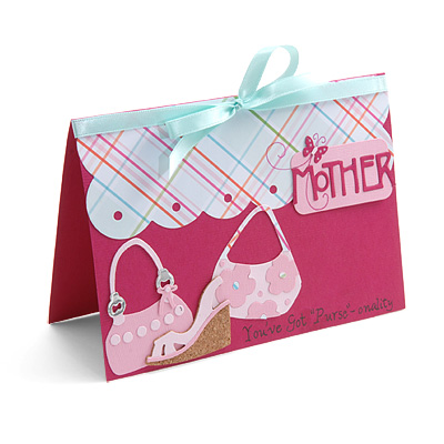 Mother's Day Purse Card