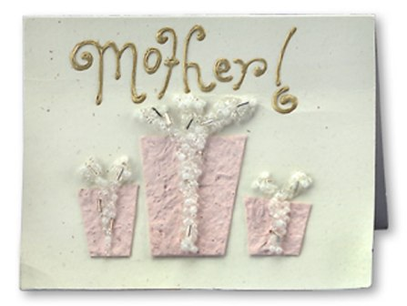 Beaded Card for Mom