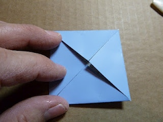 Origami Mini Paint Chip Box