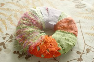 Fabric Scrap Pom Pop