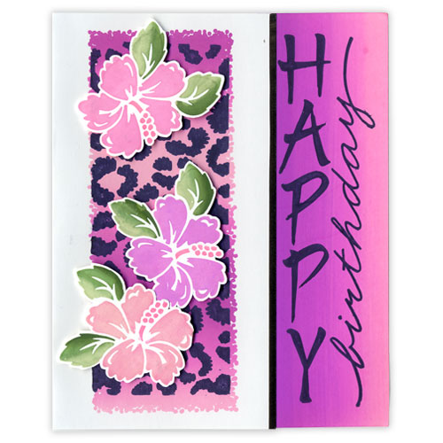 Hawaiian Happy Birthday Card