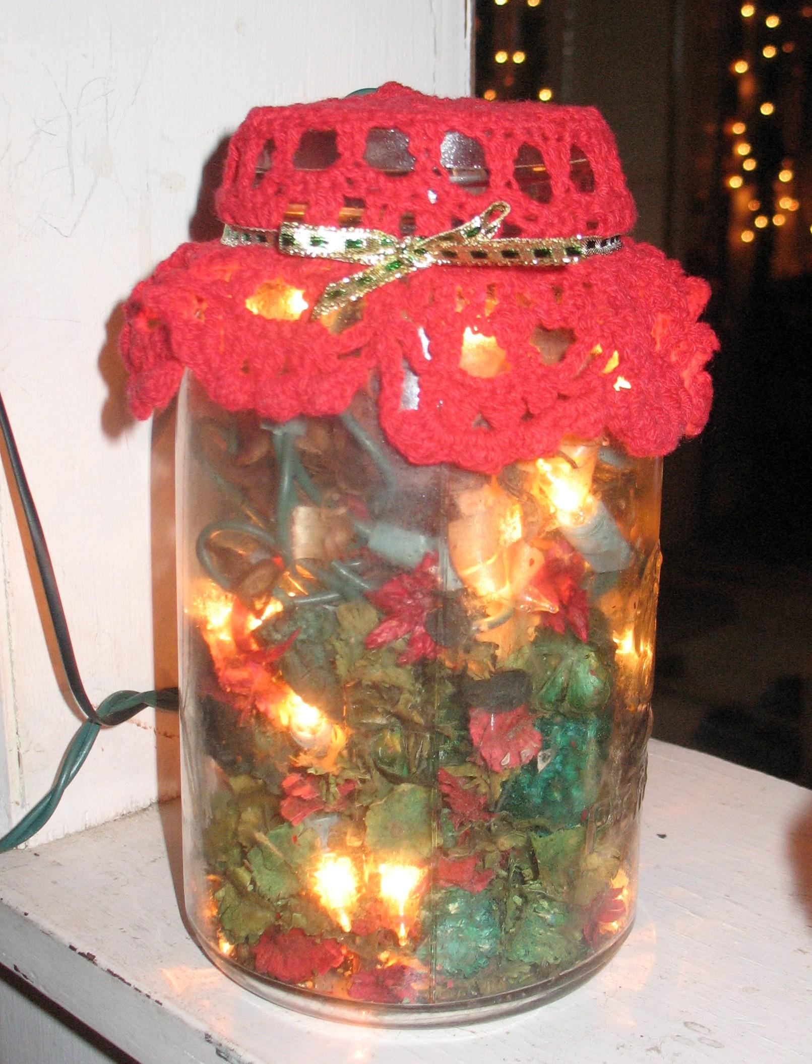 Potpourri And Lights Jar Favecrafts Com