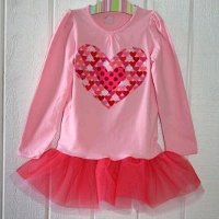 Girls' Tutu Shirt