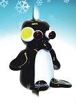 Penguin Glass Bead