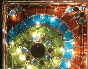 KraftyBlok Mosaic Lamp