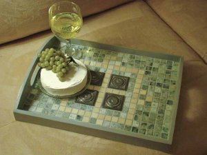 Mosaic Breakfast Tray