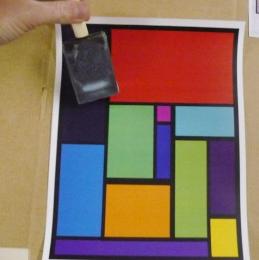 Faux Stained Glass Project 2