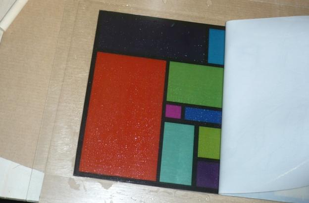 Faux Stained Glass Project 4