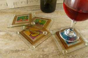 Drink Inspired Glass Coasters
