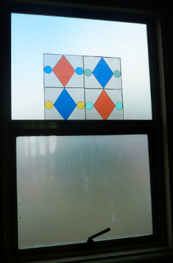 Faux Stained Glass Window 2