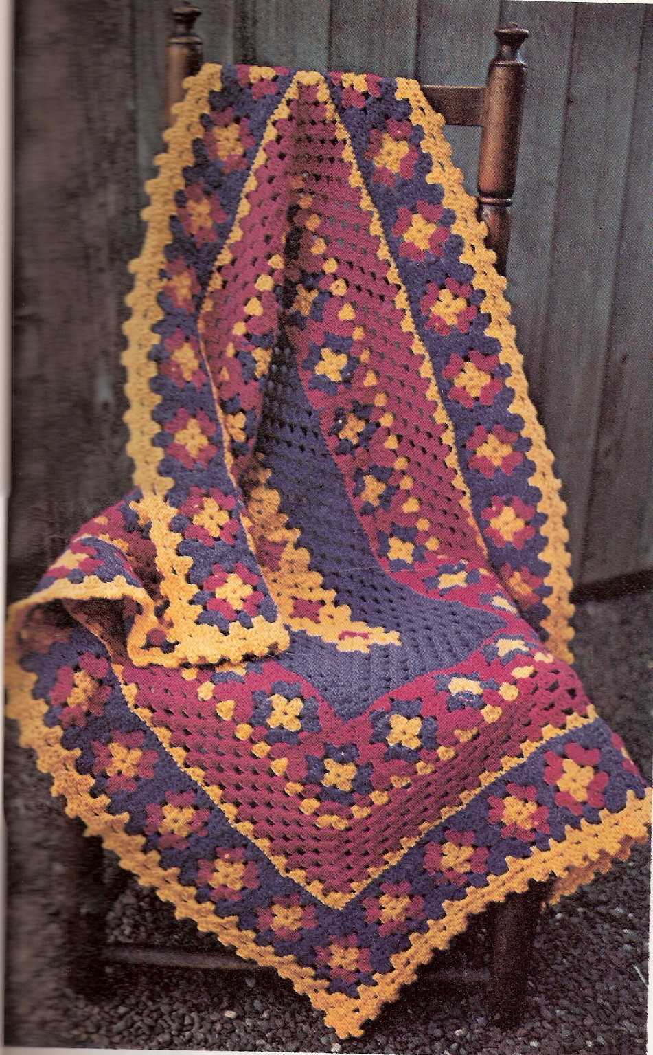 Beginner Granny Afghan - Christmas Crafts, Free Knitting Patterns