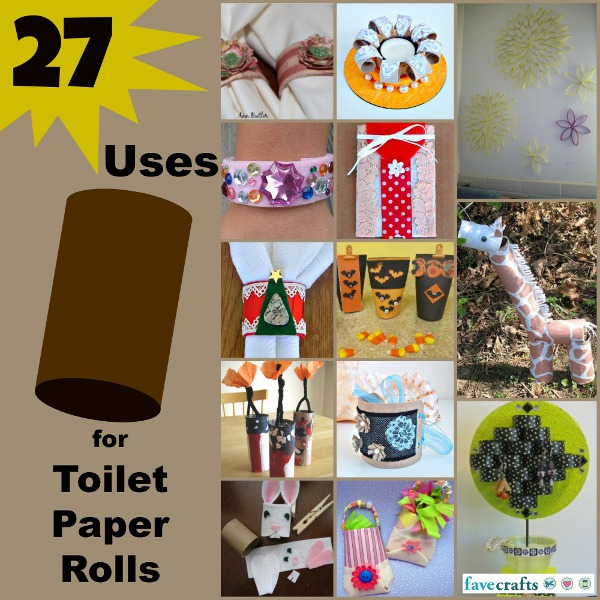27 uses for toilet paper rolls Link Love: Toilet Paper Roll Crafts