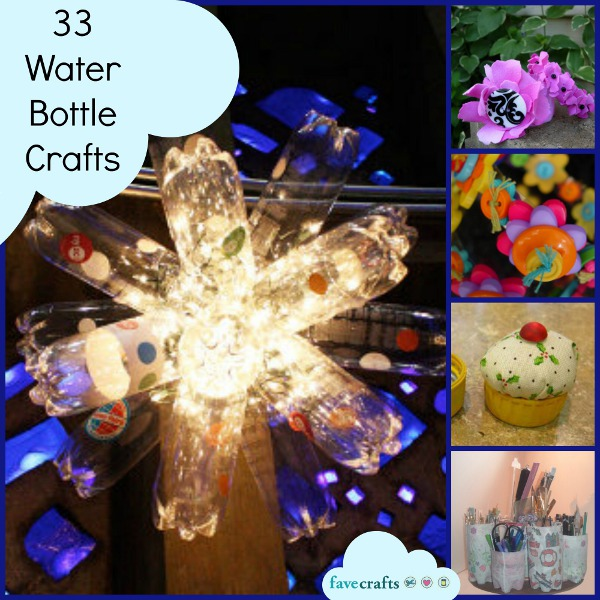 33 Water Bottle Crafts