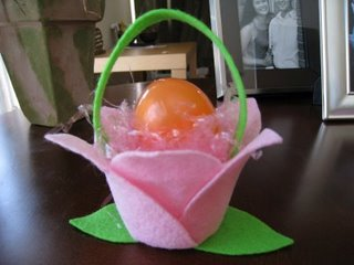 Easter Tulip Favor Cup