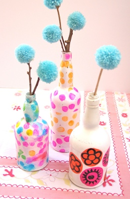 FREE Wine Bottles Crafts...