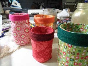 Mod Podge Jars