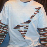 Guitar Reverse Applique Shirt