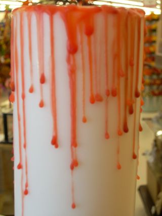 Detail of Bloody Candle