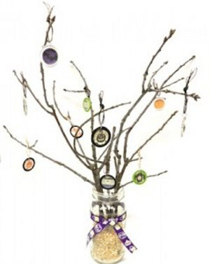 Charming Halloween Tree