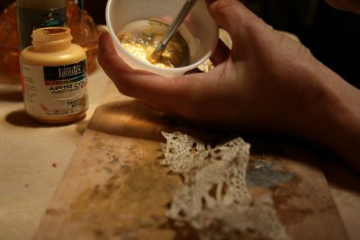 Painting the Crown