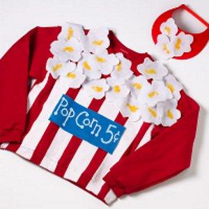 Cute Popcorn Costume