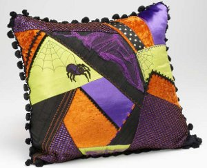 Eeks! Spider Pillow