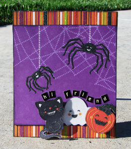 Hi Friend Halloween Card
