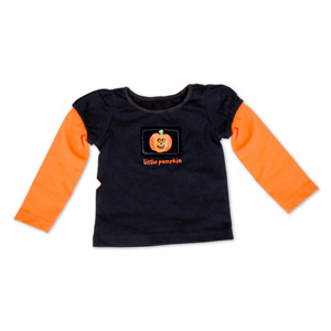 Little Pumpkin Halloween Shirt