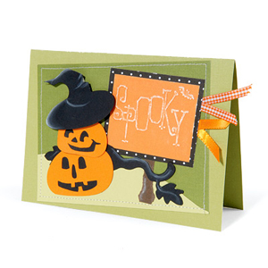 Spooky Pumpkins Card