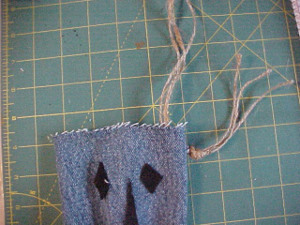 Trick or Treat Denim Bags