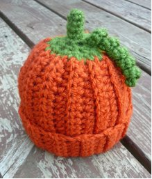 baby pumpkin beanie 10 Totally Festive, Wearable Pumpkin Crafts