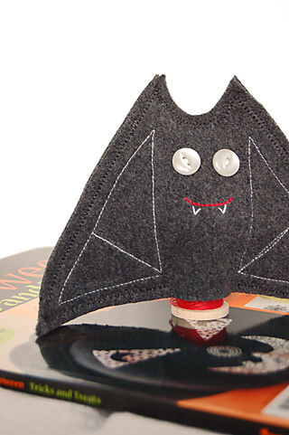 Finished Felt Bat