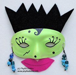 Colorful Halloween Mask