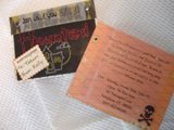 Homemade Halloween Invitations