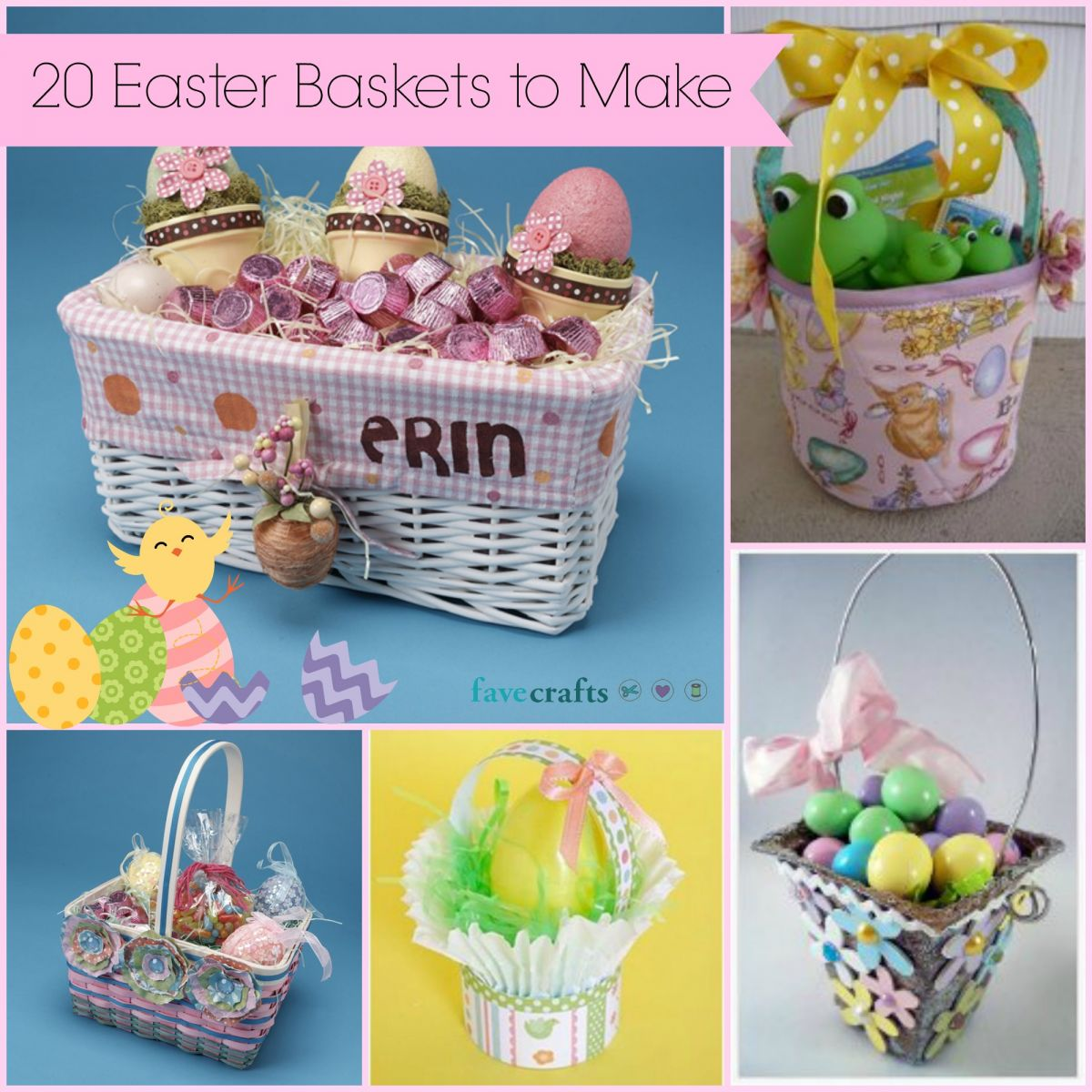 20 Easter Baskets to Make