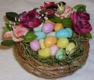 Bird Nest Candy Decoration
